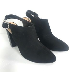 PENNY LOVES KENNY Buckle Ankle Bootie Heel Size 11